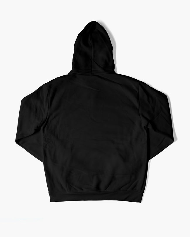 Techno is with without singing hoodie in black