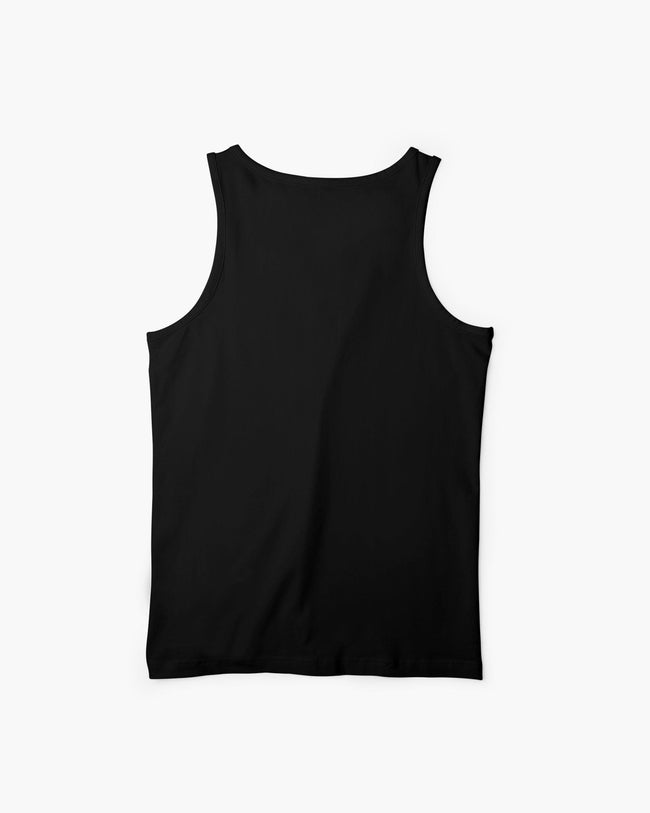 Techno is with no singing Black tank top