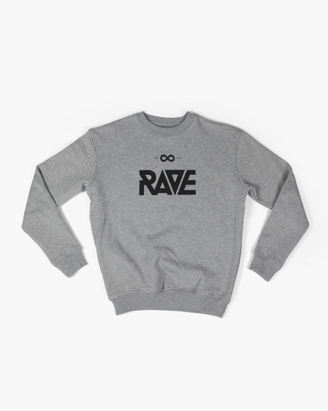 Techno sweater with rave motif