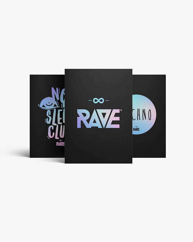 Techno, Rave, No Sleep CLub Fanbox 3er Bundle
