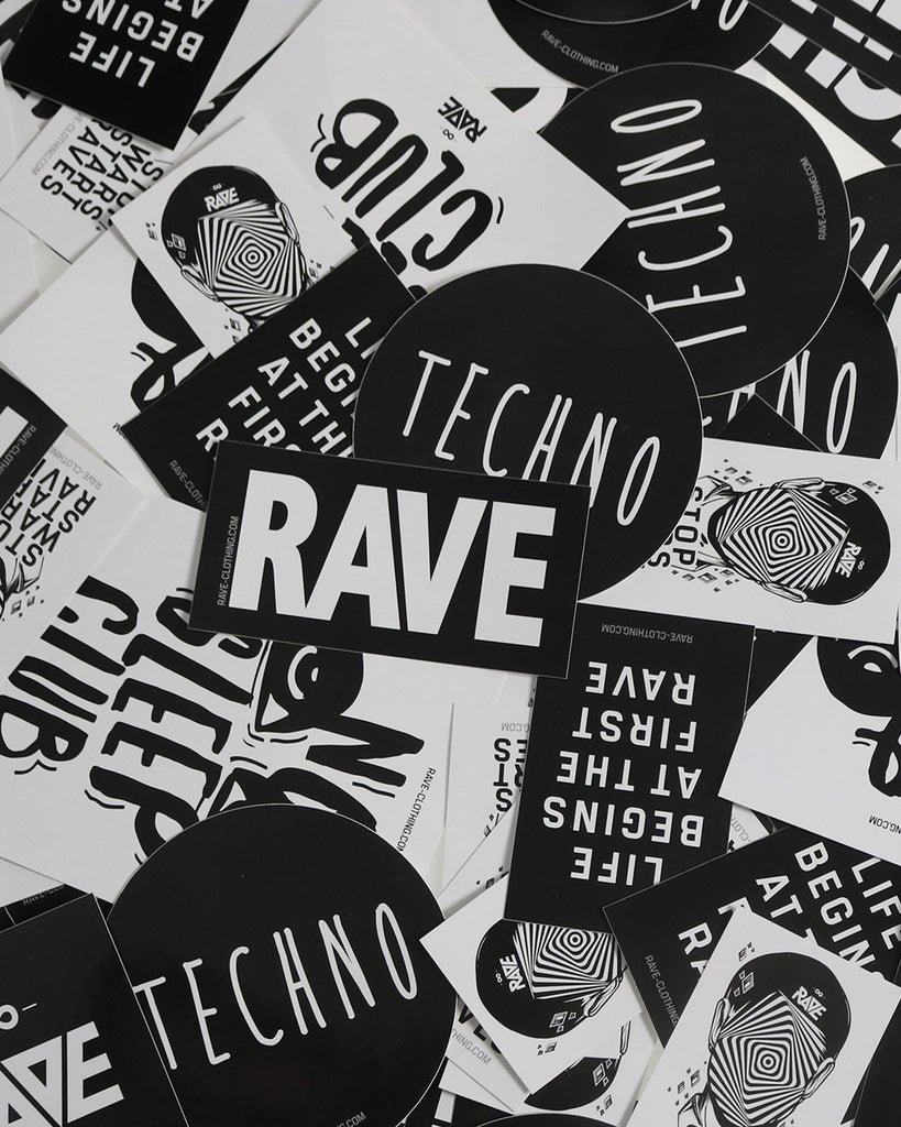 techno sticker abo rave clothing. Black Bedroom Furniture Sets. Home Design Ideas