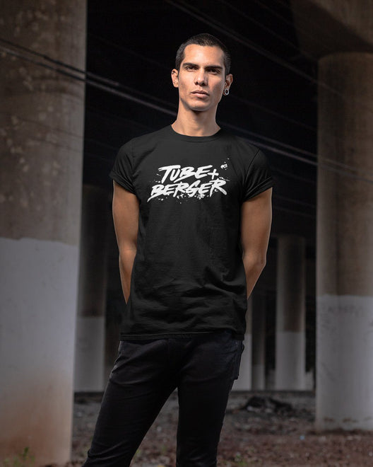 Tube & Berger T-Shirt in black
