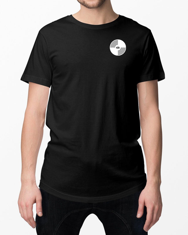 Black RAVE vinyl t-shirt by RAVE Clothing