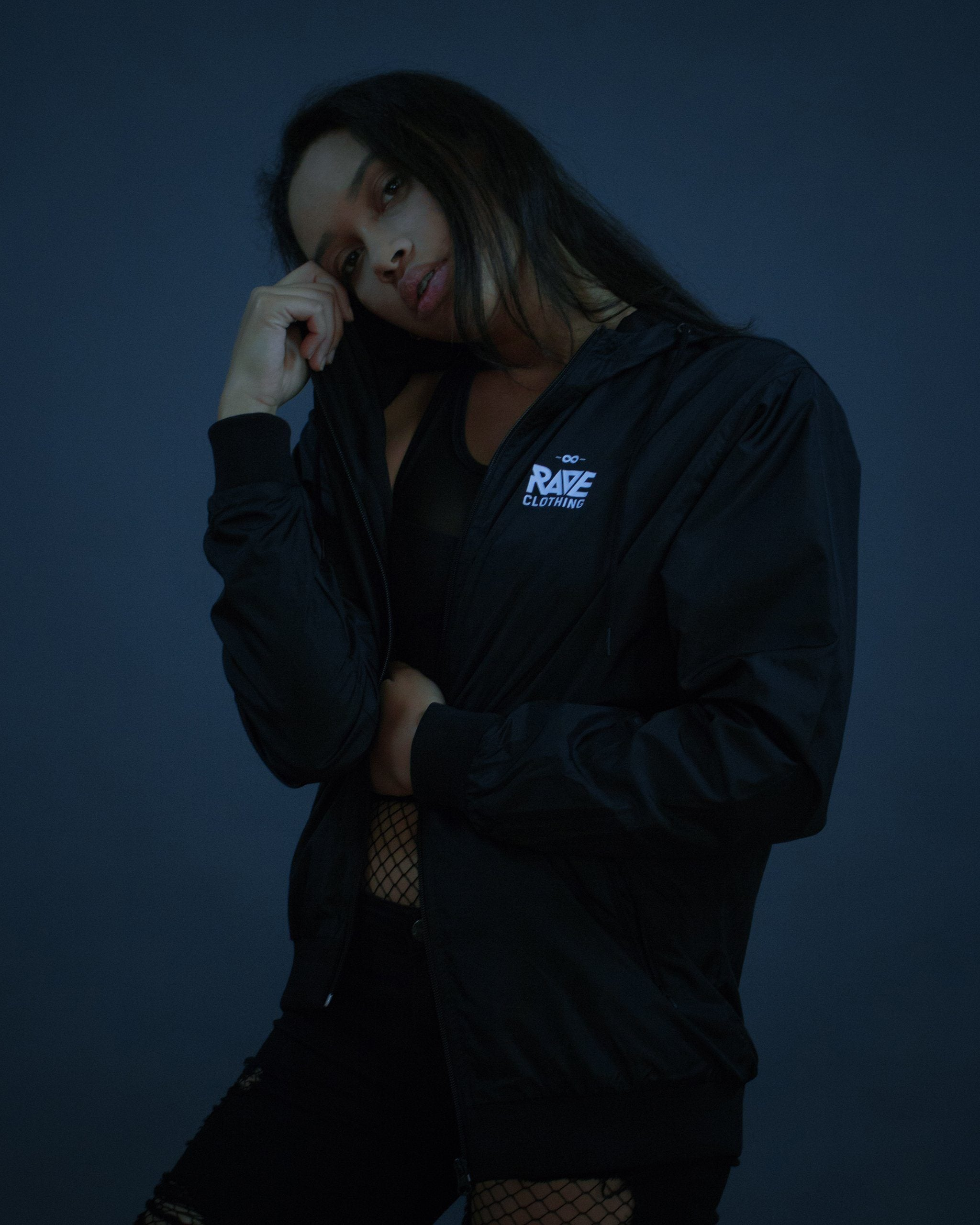 Techno windbreaker from RAVE Clothing