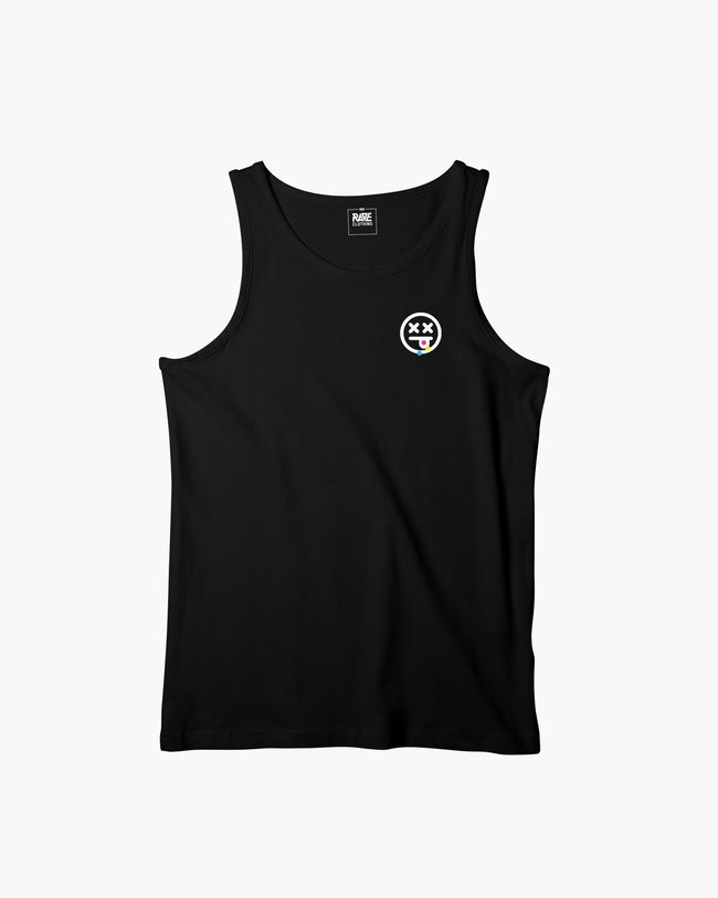 We have to stop shooting less. Tank top by RAVE Clothing