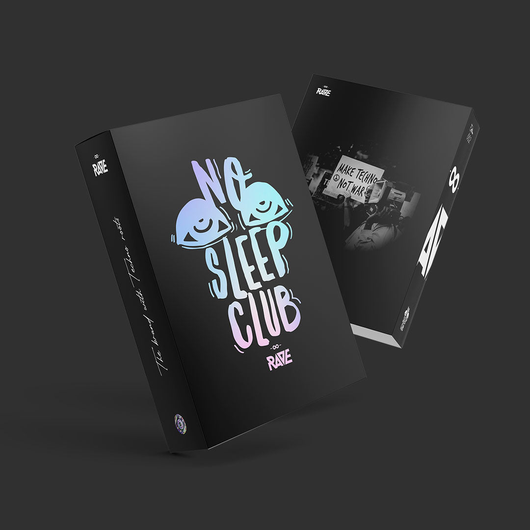 No Sleep Club Fanbox von RAVE Clothing