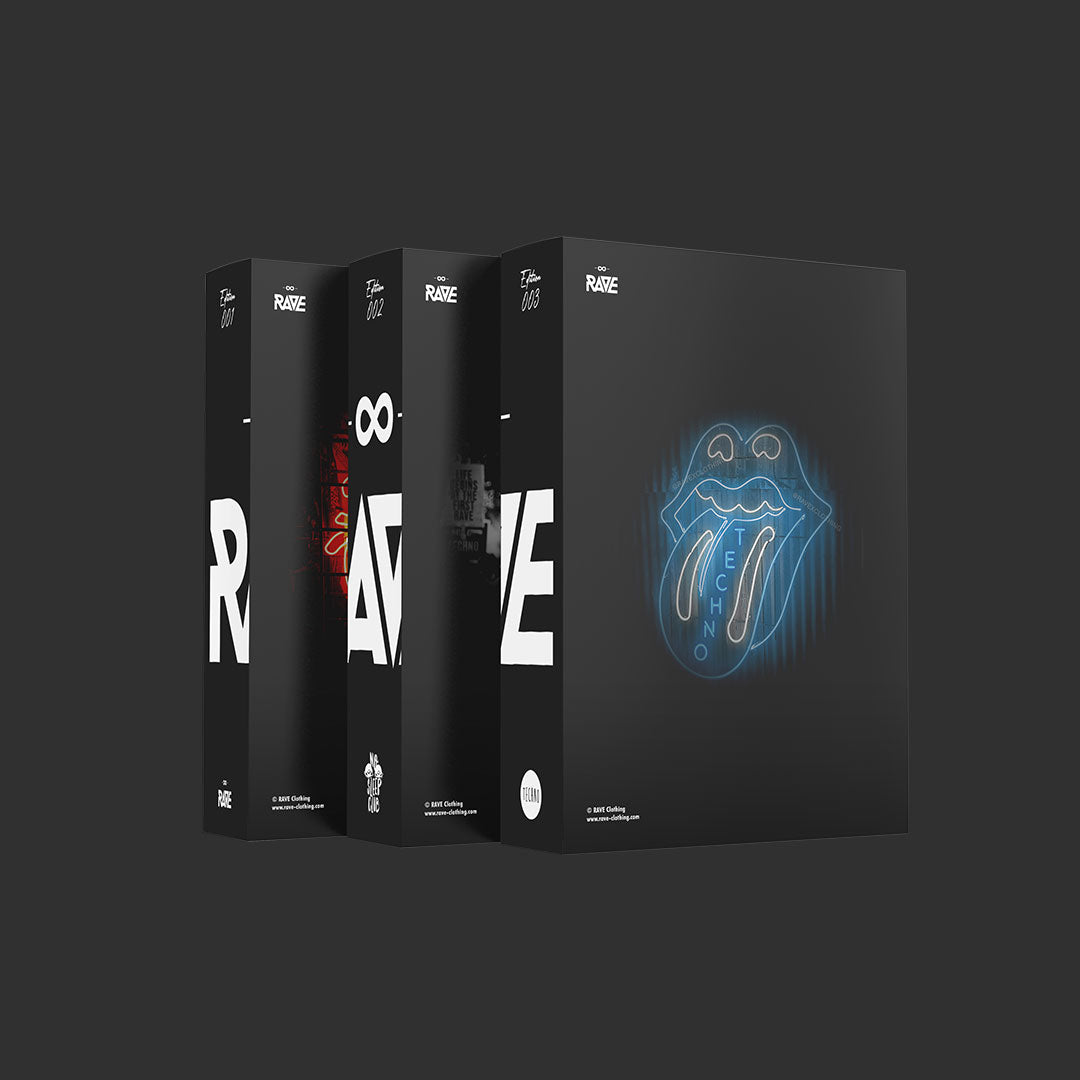 Techno und RAVE Fanboxen Collector's Edition
