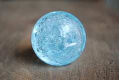 Light Blue Bubble Glass