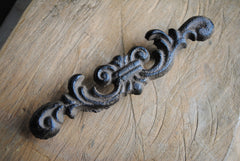 French Provincial Style Cast Iron Handle