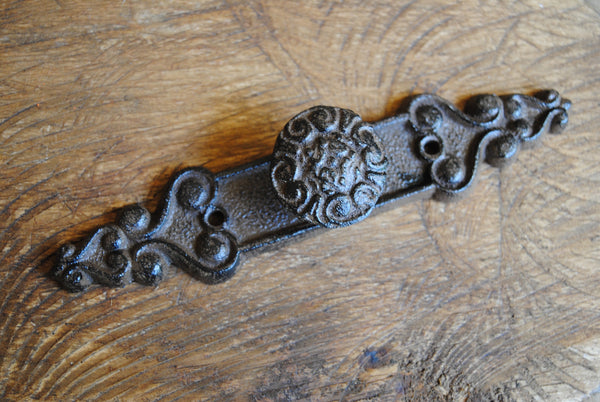 Embossed Button Drawer Handle
