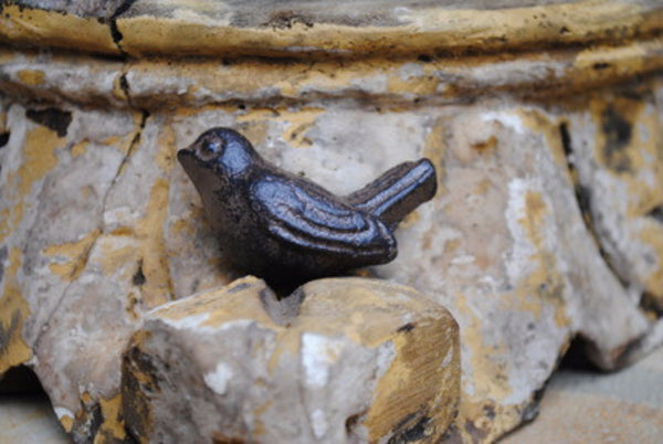 Cast Iron Bird Knob