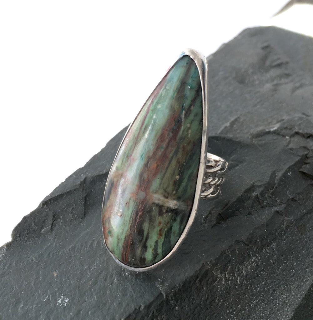 Apache Turquoise Ring