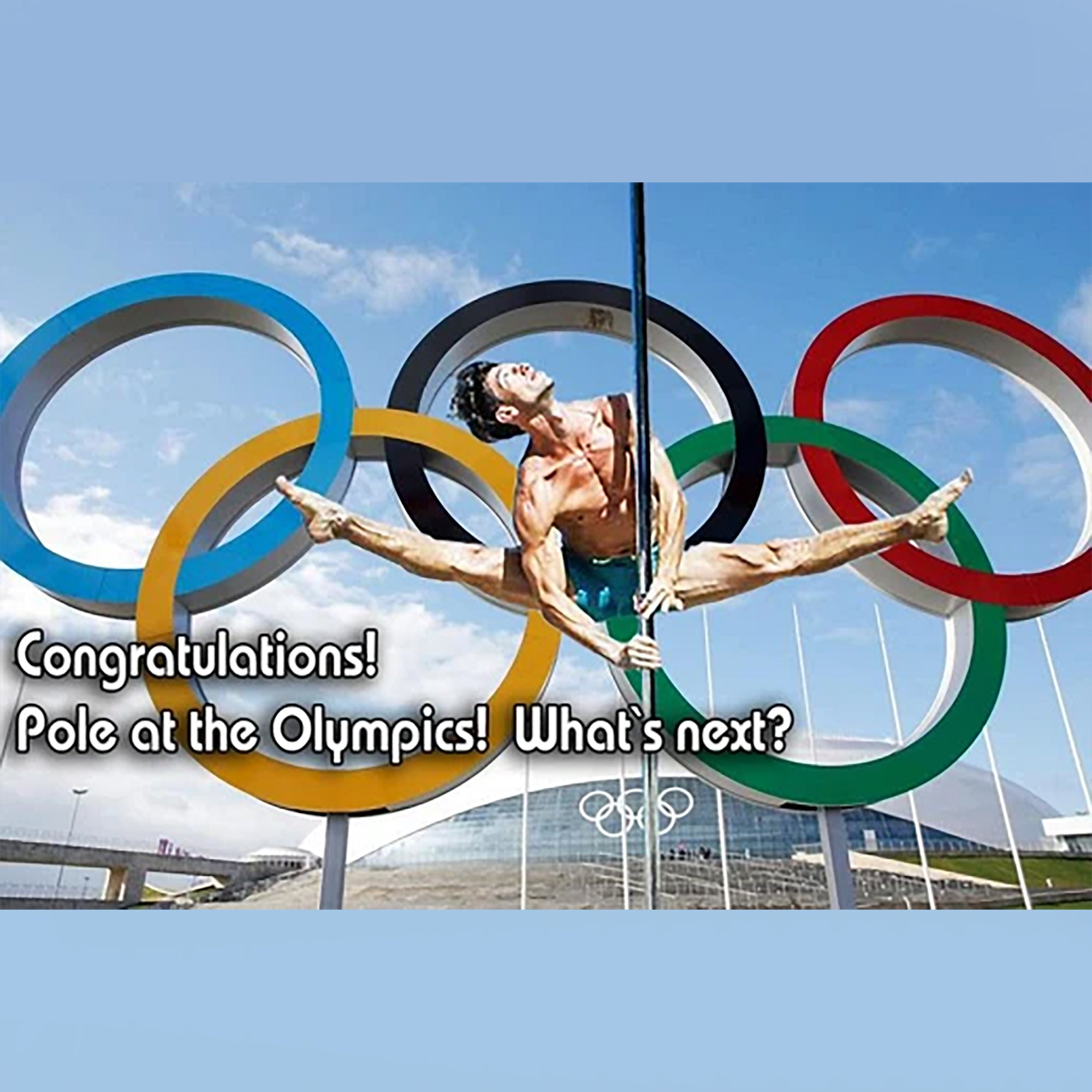 Congratulations! Pole at the Olympics! What`s next?