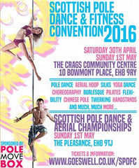 Scottish Pole Dance and Fitness Convention - GoesWell Pole Dancing School