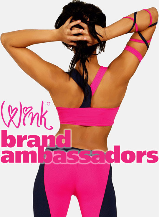 Wink Brand Ambassadors of pole dance clothing and fitness wear