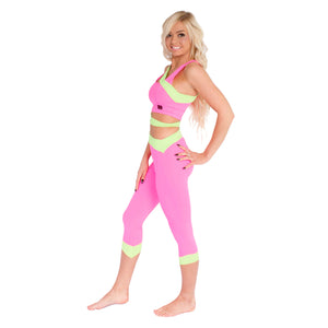 Siren Cropped Leggings W0159 - various colours