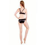 Wetlook Grip Asymmetric Monokini W0125
