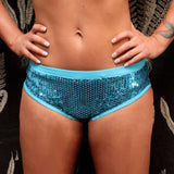 Sequin Booty Shorts W124