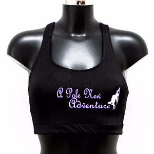 Spider Back Crop Top with your Logo (minimum order 25)