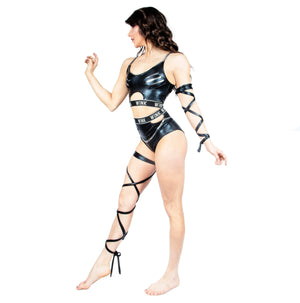Wetlook Grip Leg Garter W0141