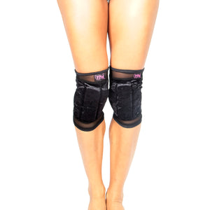 Velvet Grip Knee Pads W0226 (raspberry)