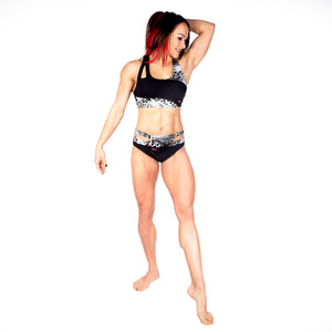 Coretta Asymmetric Crop Top W0127