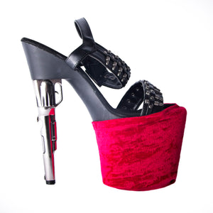 Reversible Shoe Protectors W0225 (red)