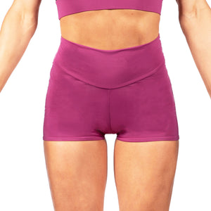Compression High Waist Shorts With Your Logo (minimum order 25)