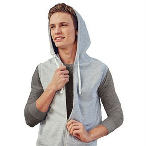 Men's Sleeveless Hoodie with your Logo (minimum order 25)