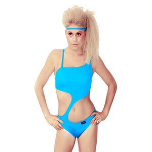 Asymmetric Monokini with your Logo (minimum order 25)