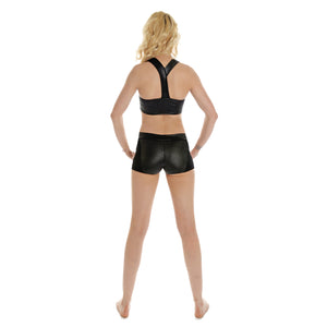 Wetlook Grip Side Panel Shorts W0130