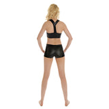Side Panel Dance Shorts W0130