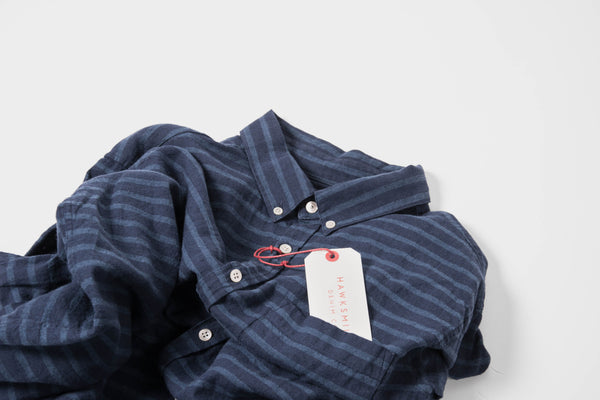 Hawksmill Denim Co Japan Fabric Shirt @Union Clothing