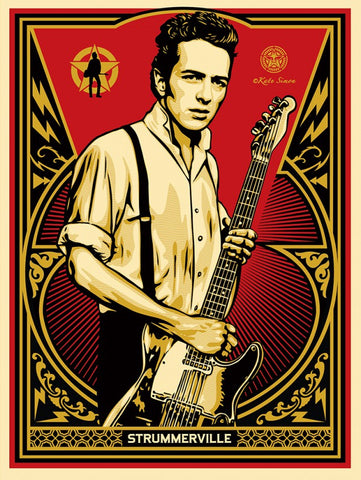 OBEY Joe Strummer @ Union Clothing Blog