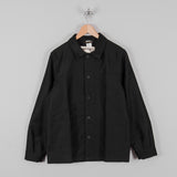 Le Laboureur Moleskin Work Jacket - Black 1