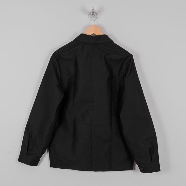 Le Laboureur Moleskin Work Jacket - Black 3