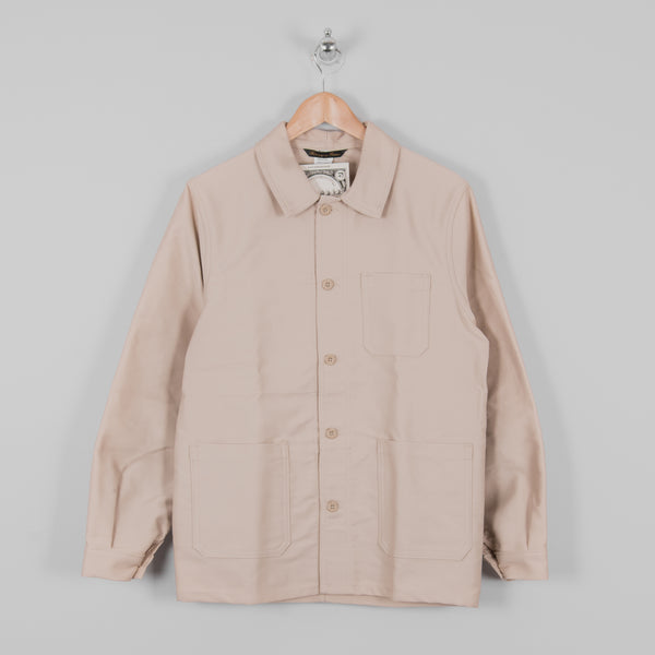 Le Laboureur Moleskin Work Jacket - Ecru 1