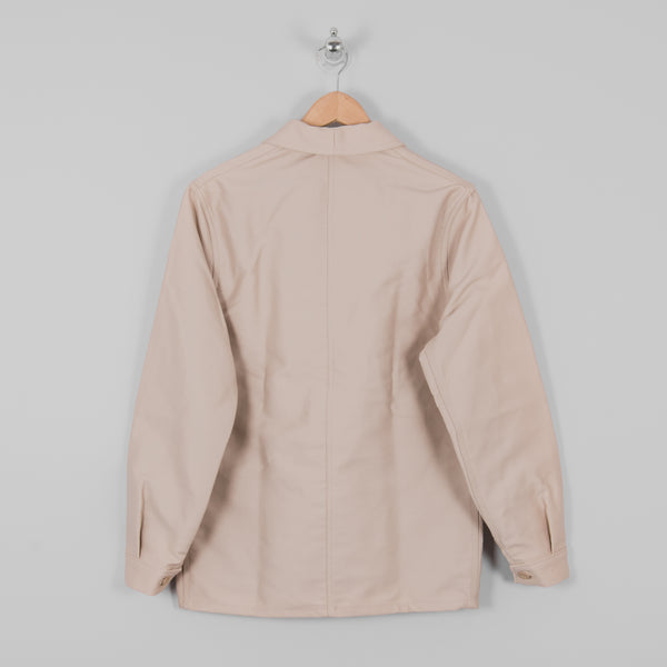 Le Laboureur Moleskin Work Jacket - Ecru 3