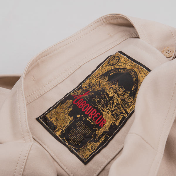 Le Laboureur Moleskin Work Jacket - Ecru 5
