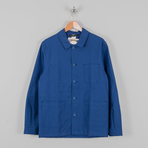 Le Laboureur Cotton Work Jacket - Bugatti Blue 1