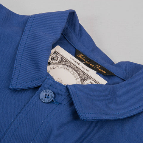 Le Laboureur Cotton Work Jacket - Bugatti Blue 2
