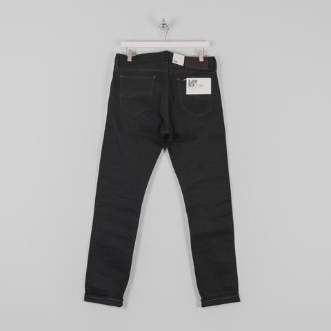 Lee 101 Rider Jeans - Blue Selvage Black Back