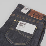 Lee 101 S KA Jeans - Dry Blue Selvage Pocket