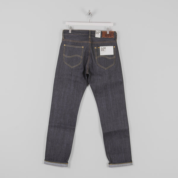 Lee 101 Z KA Jeans - Dry Blue Selvage Back