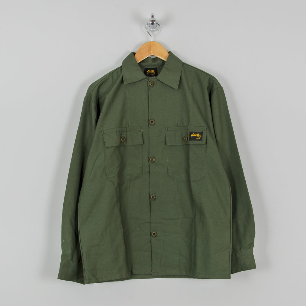 Stan Ray 2 Pocket Shirt - Olive 1