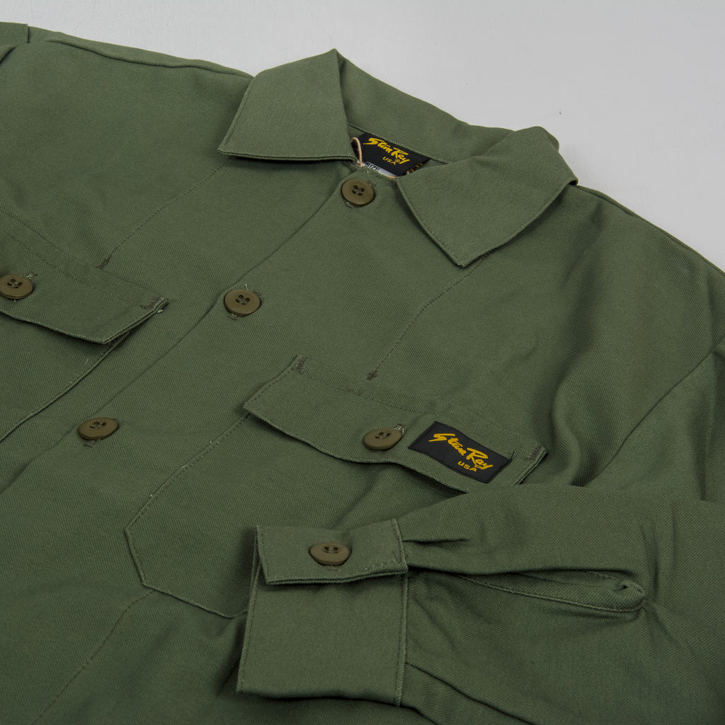 Stan Ray 2 Pocket Shirt - Olive 2