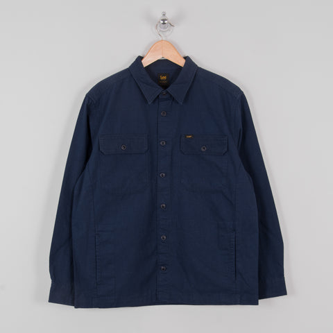 Lee Two Pocket Overshirt - Navy 1