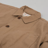 Uskees 3001 Button Overshirt - Khaki 2