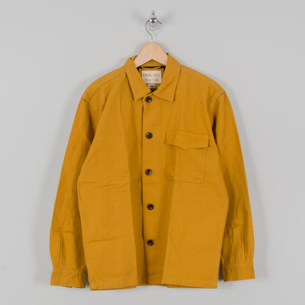 Uskees 3003 Button Single Pocket Shirt - Yellow 1
