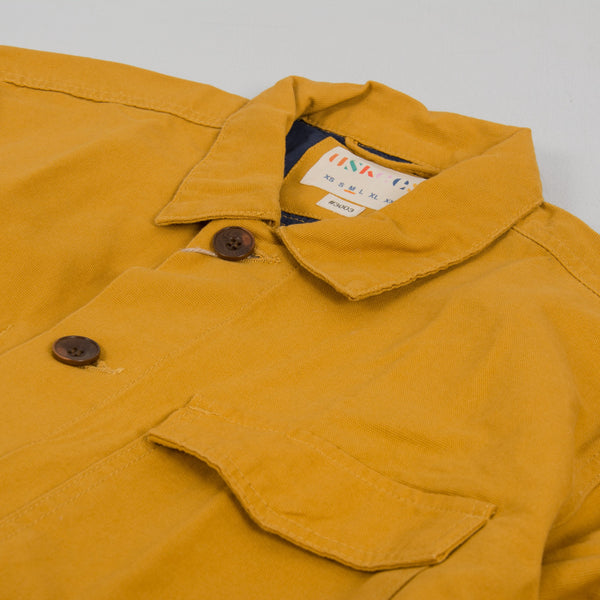 Uskees 3003 Button Single Pocket Shirt - Yellow 2